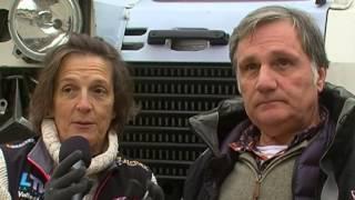 Notte Dakar 2016, La Thuile Valle d'Aosta - Terza parte