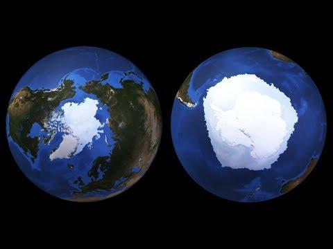 「北極」と「南極」の違い