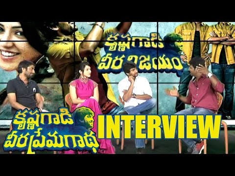 Krishnagaadi Veera Prema Gaadha Movie Team Interview - Nani, Mehreen