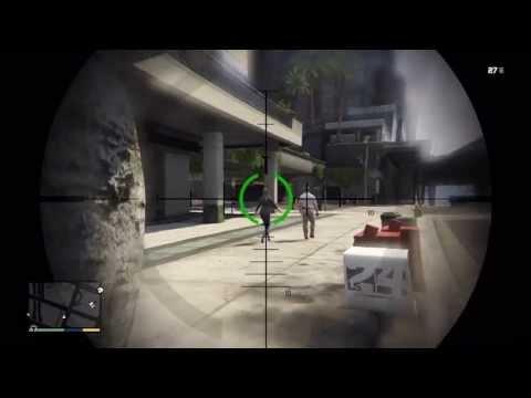 GTA 5 Guns: Heavy Sniper Fully Custom All Gold