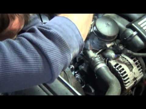 Bmw E46 X3 X5 E39 Serpentine    Belt    and A C    Belt    Install