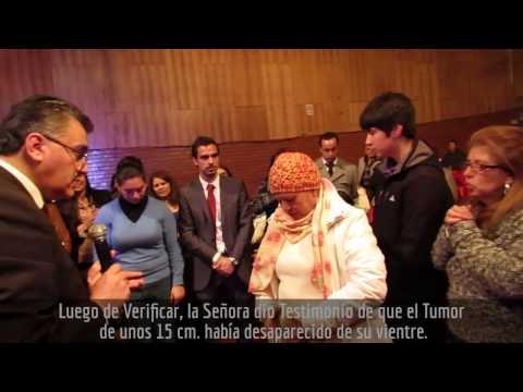 TUMOR CANCEROSO DESAPARECE INSTANTÁNEAMENTE ¡GLORIA A DIOS! Pr. Max Contreras