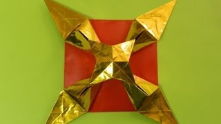 Origami Instructions: Shooting Star (martin Sejer Andersen)