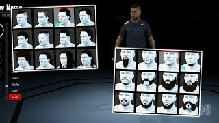 UFC 3: Ultimate Team - All Customization: Hair, Beards, Tattoos & More! (UFC 3 BETA)