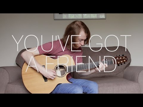 James Taylor - You've Got A Friend - Fingerstyle Guitar Cover By James Bartholomew