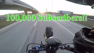 100,000 subscribers!  + crash compilation
