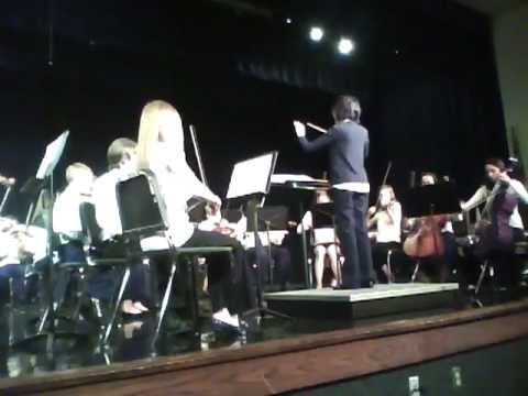 """Awtrey Middle School 7th Grade Orchestra Performance - """"Dramatic Essay"""""""