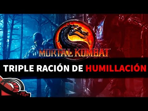 Triple RaciÓn De HumillaciÓn | Mortal Kombat 9 - C  None - Raggerzone video