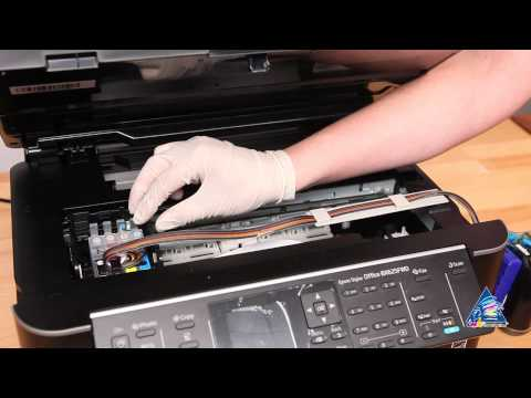 CISS for Epson Stylus BX625FWD  - installation