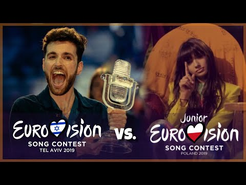 Junior Eurovision 2019 vs. Eurovision 2019 | Battle
