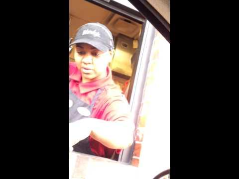 Customer Service in drive thru