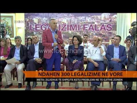 Ndahen 300 legalizime në Vorë - Top Channel Albania - News - Lajme