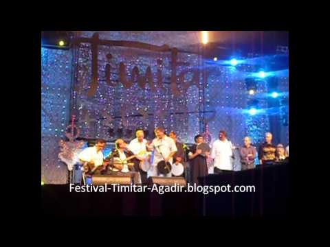 RENCONTRE IGOUT ABDELHADI ET AZIZ  AU FESTIVAL TIMITAR