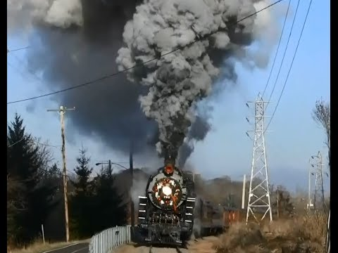 HD Christmas Steam Trains (part 1)
