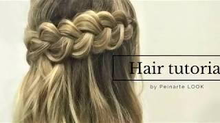 Peinados faciles con trenzas