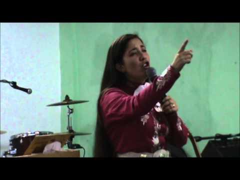 Gladys Muñoz en Templo Ciudad de Refugio Tema: No nos cansemos de hacer el Bien