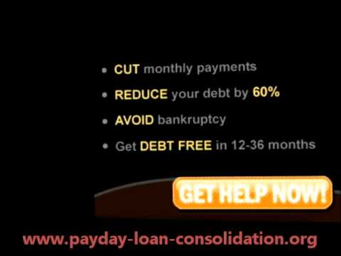 Debt consolidation by Payday Loan Cosolidation