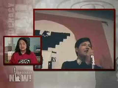 Democracy Now March 31 08 Part 4