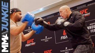 UFC on ESPN 1: James Vick open workout