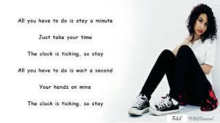 Zedd, Alessia Cara - Stay (Lyrics)