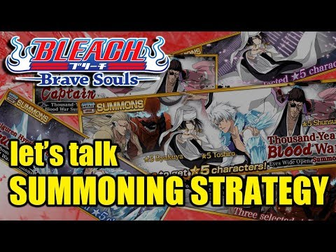 Bleach Brave Souls (Discussion): How to approach the MANGA BANNERS!