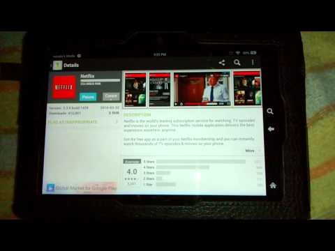 how to download apps on the kindle fire hdx with one mobile market