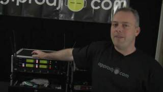 SHURE UR4D UHF-R Wireless Dual Channel Microphone System from agiprodj.com
