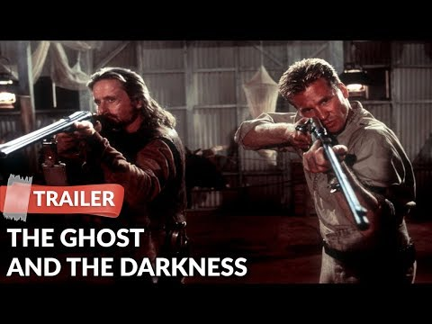 The Ghost And The Darkness 1996 Trailer   Michael Douglas   Val Kilmer