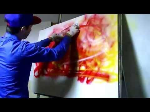 Spray Paint Art 【YOSHIKI SPRAYMAN from Japan】