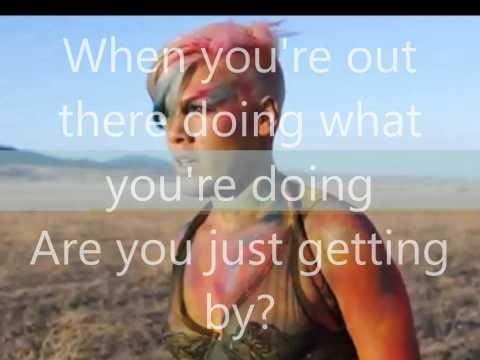 Pink - Try Lyrics Hq video