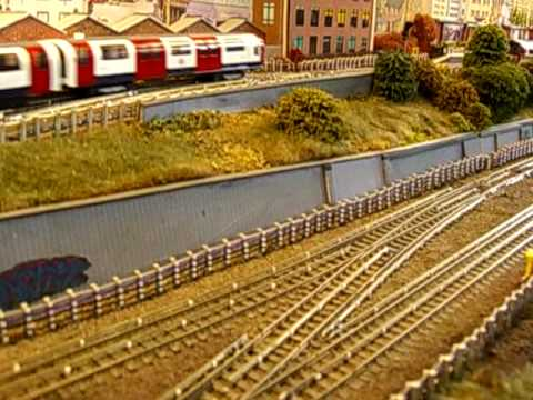 Model OO Gauge underground