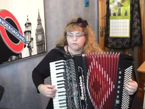 Девочка-пай, аккордеон, Михаил Круг, Russian Chanson, Mikhail Krug, русский шансон