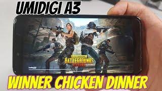 Umidigi A3 PUBG Gameplay! Winner Winner Chicken Dinner! MT6739 BAGT/GFX Tool