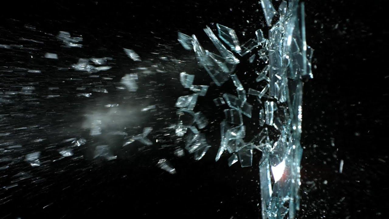 Free Slow Motion Footage Slingshot Breaking Glass Youtube