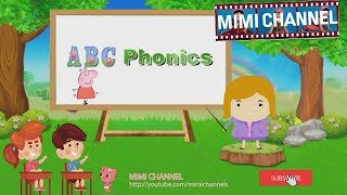 ABC class Phonics with Peppa Pig  | Nursery Rhymes For Kids by MIMI Channel