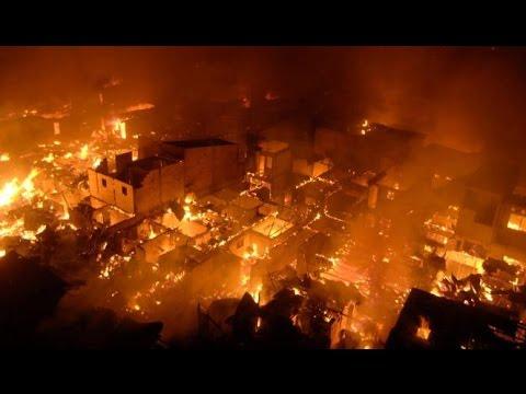 Kebakaran Hanguskan 5 Rumah Di Kembangan Utara Akibat Korsleting Listrik - Jakarta Today 11/08