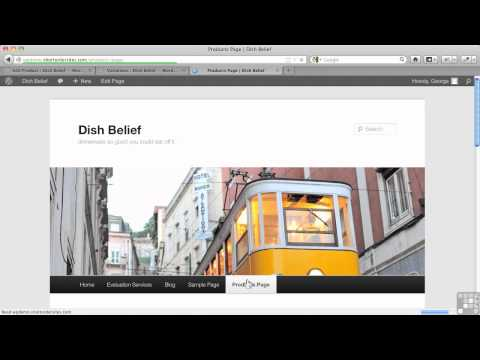 0 WordPress for E Commerce Tutorial | WP E commerce Plugin   Product Variations Part 1/2