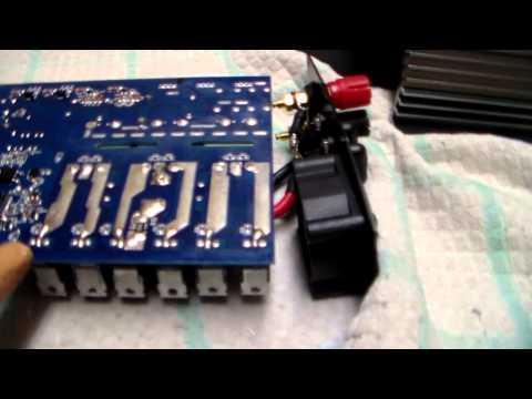 inside look KD 600w grid tie inverter