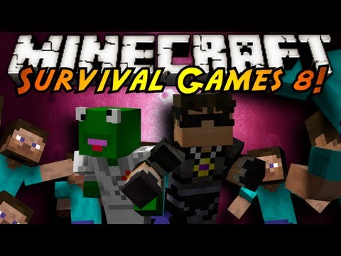 Minecraft: SURVIVAL GAMES 8!