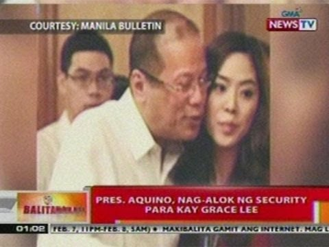 BT: Pres. Aquino, nag-alok ng   security para kay Grace Lee