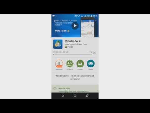 Скачать MetaTrader 4 400. 445 на андроид