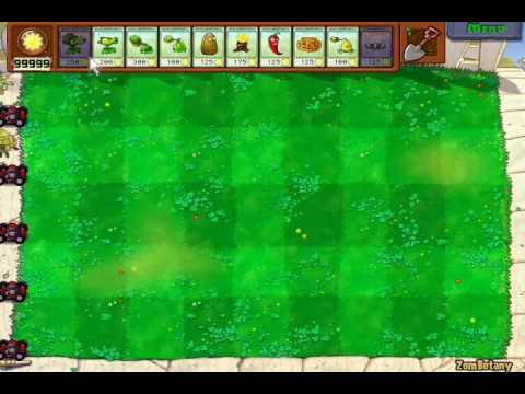 PLANTS VS ZOMBIES TRAINER +4