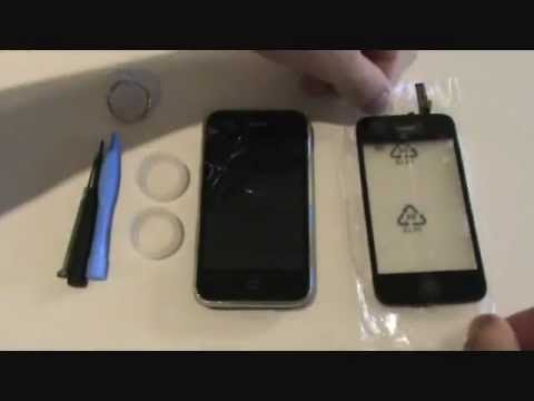 Tutorial - iPhone 3G/3GS - How to Replace Cracked Front Glass