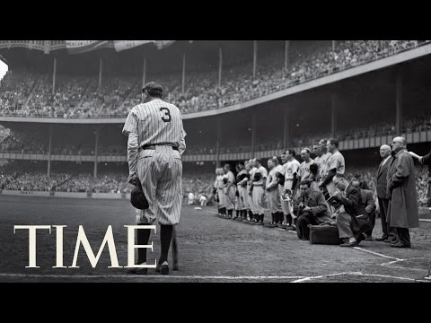 The Babe Bows Out: Behind Nat Fein's Photo Of Babe Ruth | 100 Photos | TIME
