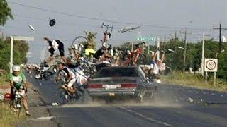 best funny bike and car stunts