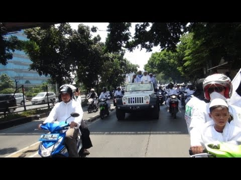 Milad FPI ke-15, City Tour