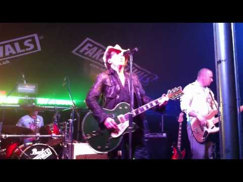 U2 tribute band New2 at Haxey Fake Festival- One