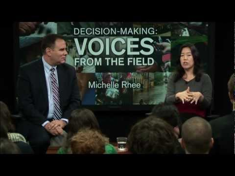 Michelle Rhee, Former Chancellor of Washington D.C. Public Schools