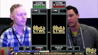 Finals - Jonas Neubauer vs Sean Ritchie - Classic Tetris World Championship 2015