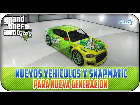 GTA 5 ONLINE - NUEVAS IMAGENES DE VEHICULOS Y SNAPMATIC / PS4 - XBOX ONE